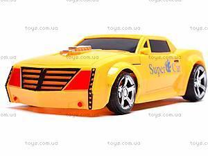 Трансформер-машинка Super Car, 8-12, іграшки
