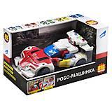 Трансформер Mecha: Машина красный цвет , D622-H047A, фото