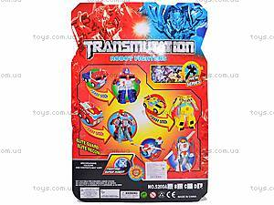Трансформер «Робо-воин», 5200CD, детские игрушки