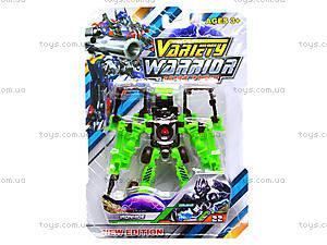 Трансформер-робот Warrior, DA610, фото