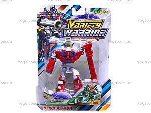 Трансформер-робот Warrior, DA610, отзывы