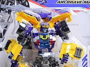 Трансформер-робот Brave, DA-960, отзывы