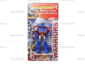 Трансформер-робот для мальчиков «Сражение», 6921, купить