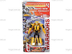 Трансформер-робот для мальчиков «Сражение», 6921, фото