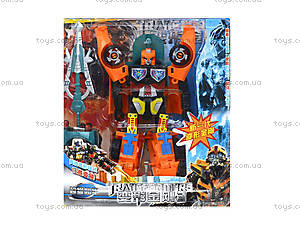 Набор игрушечных трансформеров «Робот», 300-6, купить