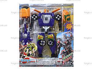 Набор игрушечных трансформеров «Робот», 300-6, фото