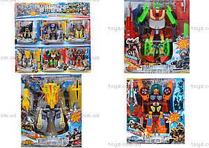 Набор игрушечных трансформеров «Робот», 300-6