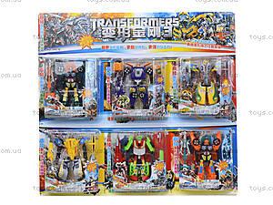 Набор игрушечных трансформеров «Робот», 300-6, отзывы