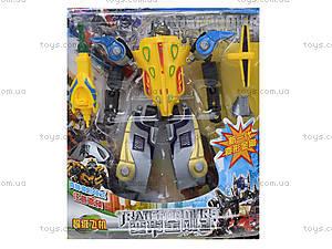 Набор игрушечных трансформеров «Робот», 300-6, цена