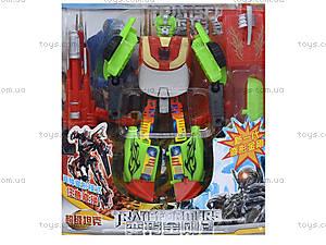 Набор игрушечных трансформеров «Робот», 300-6, игрушки