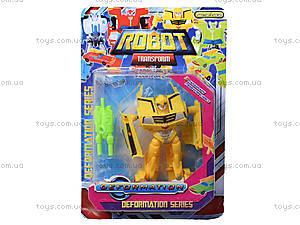 Игровой трансформер-робот для детей, 7960, купить