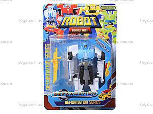 Игровой трансформер-робот для детей, 7960, фото