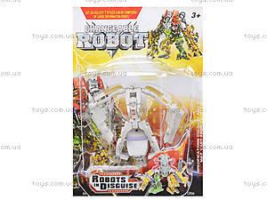 Детский конструктор-робот «Трансформер», 8001-1234567, фото