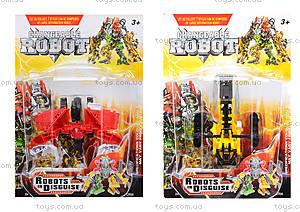 Детский конструктор-робот «Трансформер», 8001-1234567
