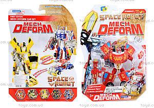 Детский трансформер-робот Space Robot, D622-E222(633613)