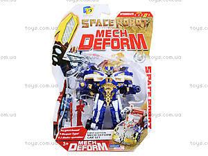 Игрушечный трансформер Space Warrior, D622-E225(633615), купить