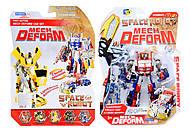 Робот-трансформер для детей Space Fighter, D622-E229(633619), купить