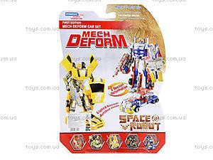 Робот-трансформер для детей Space Fighter, D622-E229(633619), фото