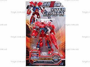 Трансформер-робот для детей, 10085, игрушки