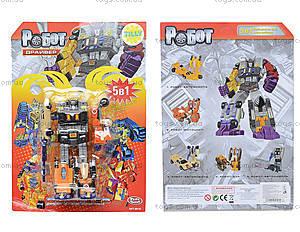 Трансформер-робот «Драйвер», 8010