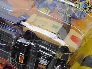 Трансформер-робот «Драйвер», 8010, игрушки