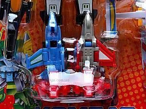Трансформер «Робот-истребитель» маленький, 8000, игрушки