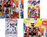Трансформер-робот «Комбат», 8017, детский