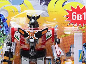 Трансформер-робот «Комбат», 8017, цена