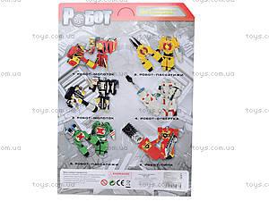 Трансформер-робот «Мастербот», 8030, детские игрушки
