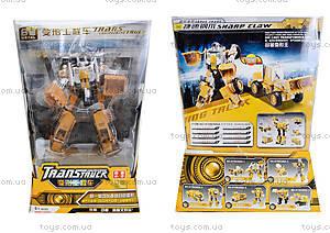 Металлический трансформер «Робот-трактор», 80305A-1