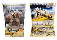 Металлический трансформер «Робот-трактор», 80305A-1, купить