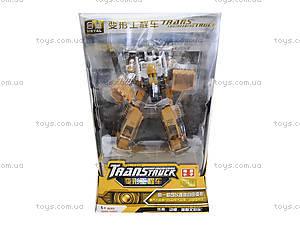 Металлический трансформер «Робот-трактор», 80305A-1, фото
