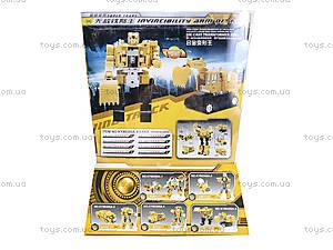 Игрушечный трансформер «Робот-экскаватор», 80305A-5, фото