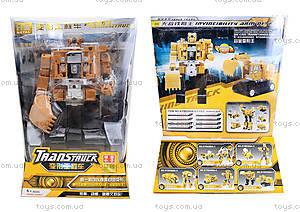 Игрушечный трансформер «Робот-экскаватор», 80305A-5
