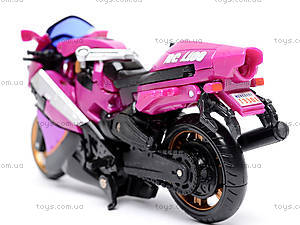 Трансформер «Робот-мотоцикл», 3301, игрушки