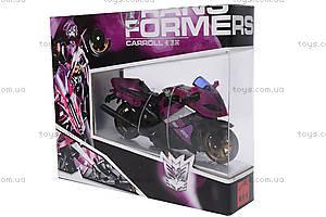 Трансформер «Робот-мотоцикл», 3301, детские игрушки