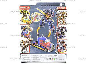 Игрушечный трансформер - робот на планшете, 3860, фото