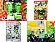 Трансформер-робот «Небоскреб», 8003, игрушки