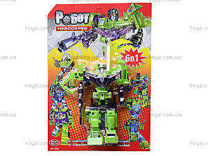Трансформер-робот «Небоскреб», 8003, магазин игрушек