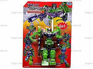 Трансформер-робот «Небоскреб», 8003, купить
