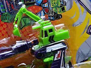 Трансформер-робот «Небоскреб», 8003, детские игрушки
