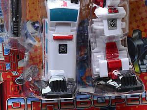 Трансформер-робот «Огнеборец», 8006, купить