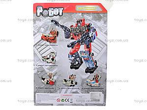 Трансформер-робот «Огнеборец», 8006, фото