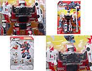 Трансформер-робот «Огнеборец», 8006, toys.com.ua