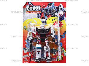 Трансформер-робот «Огнеборец», 8006, отзывы