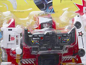Трансформер-робот «Огнеборец», 8006, игрушки