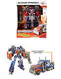 Трансформер - робот «Праймбот», 8107, отзывы