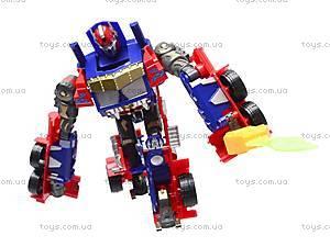 Трансформер-робот с пистолетом на присосках, 9-3, купить