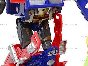Трансформер-робот с пистолетом на присосках, 9-3, фото
