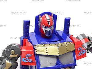 Трансформер-робот с пистолетом на присосках, 9-3, игрушки